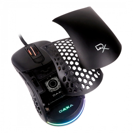 mouse gaming daxa air black cover